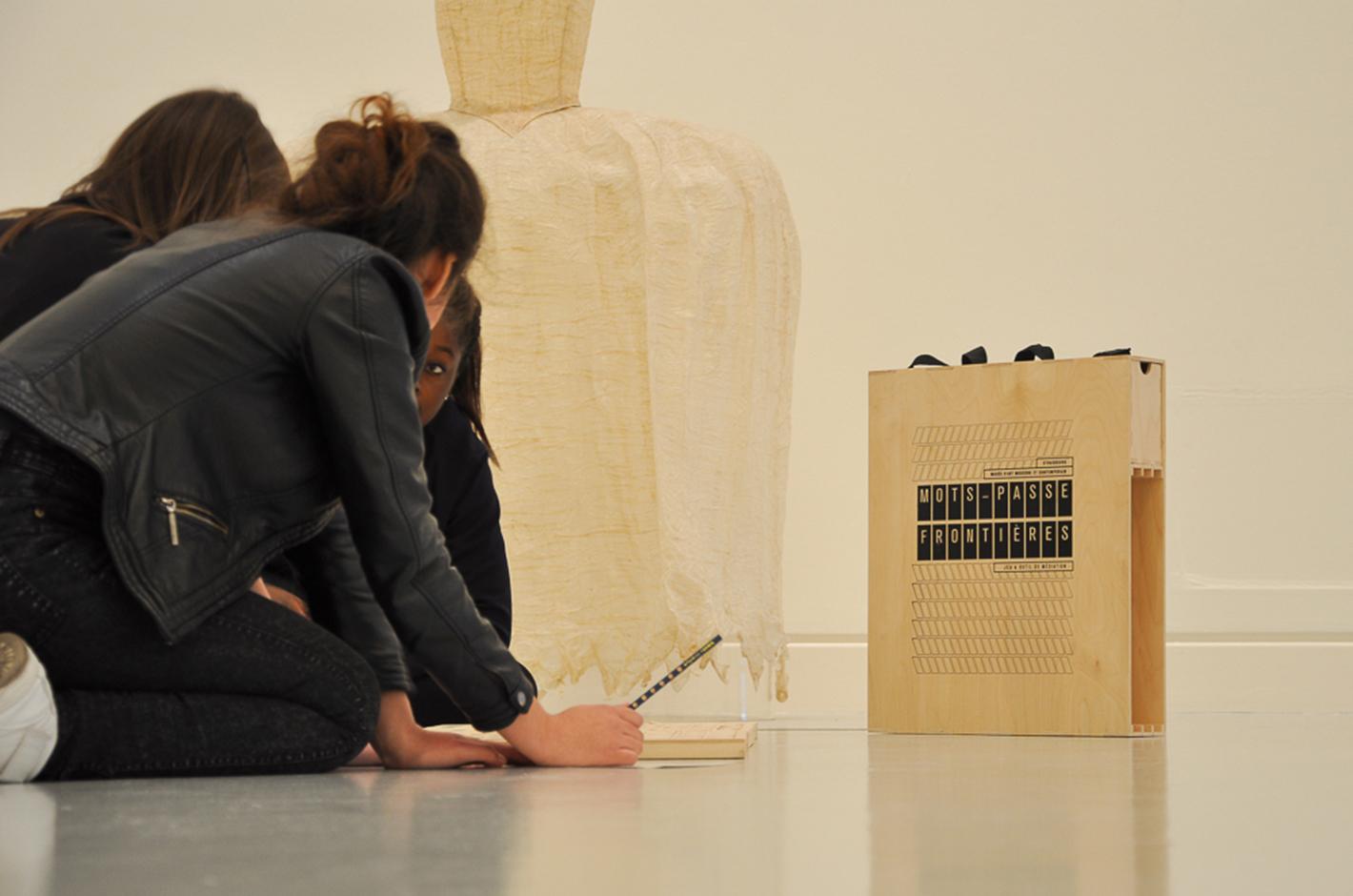 Mots-passe frontières — Musée d'art moderne et contemporain Strasbourg - 2014