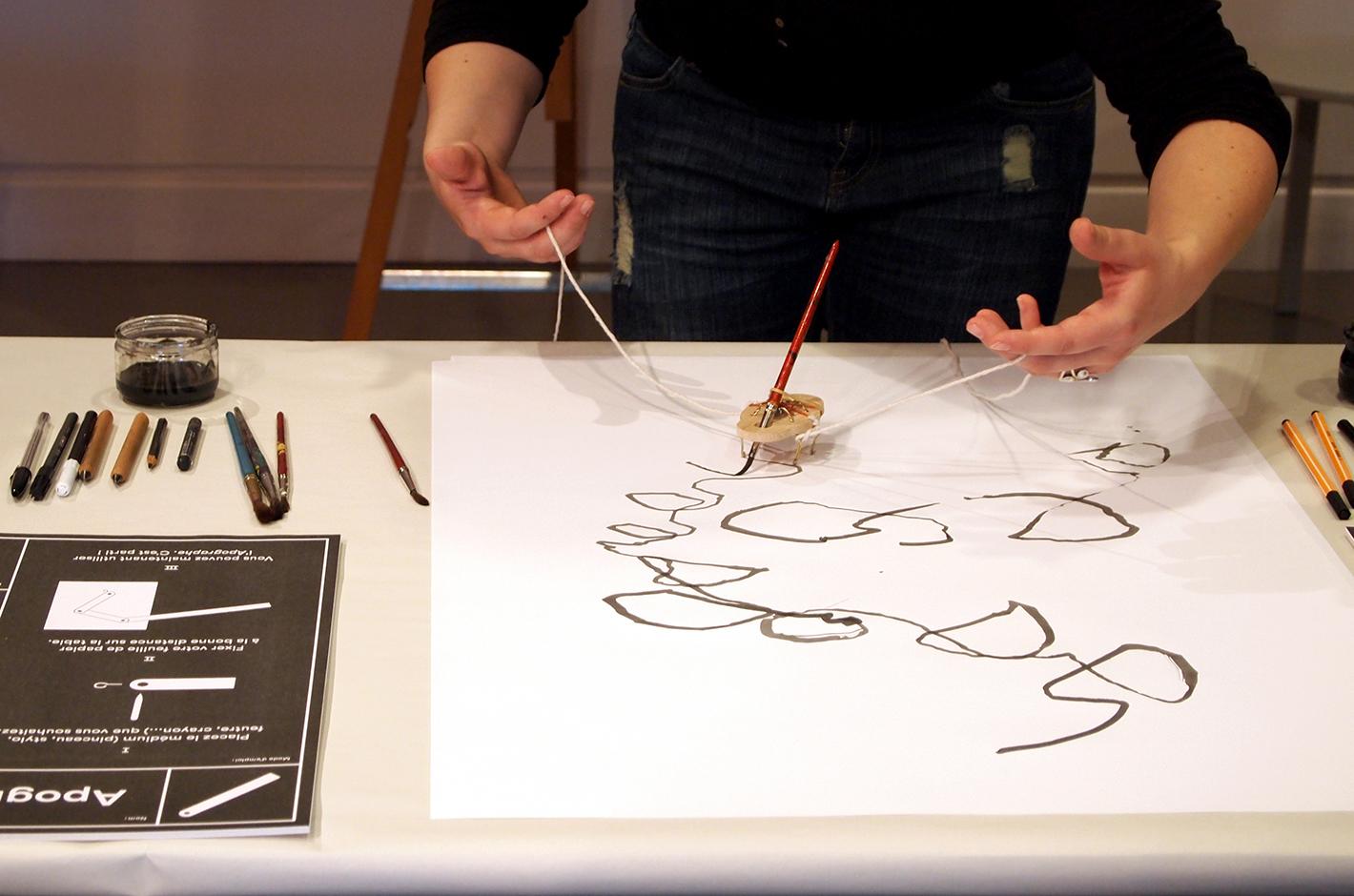 dessins variables — atelier participatif — Musée d'art moderne et contemporain de Strasbourg