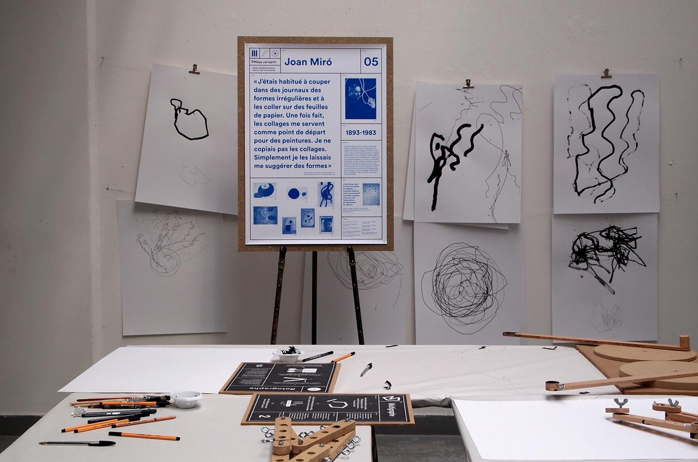 dessins variables — haute école des arts du Rhin — terrains vagues atelier graphique