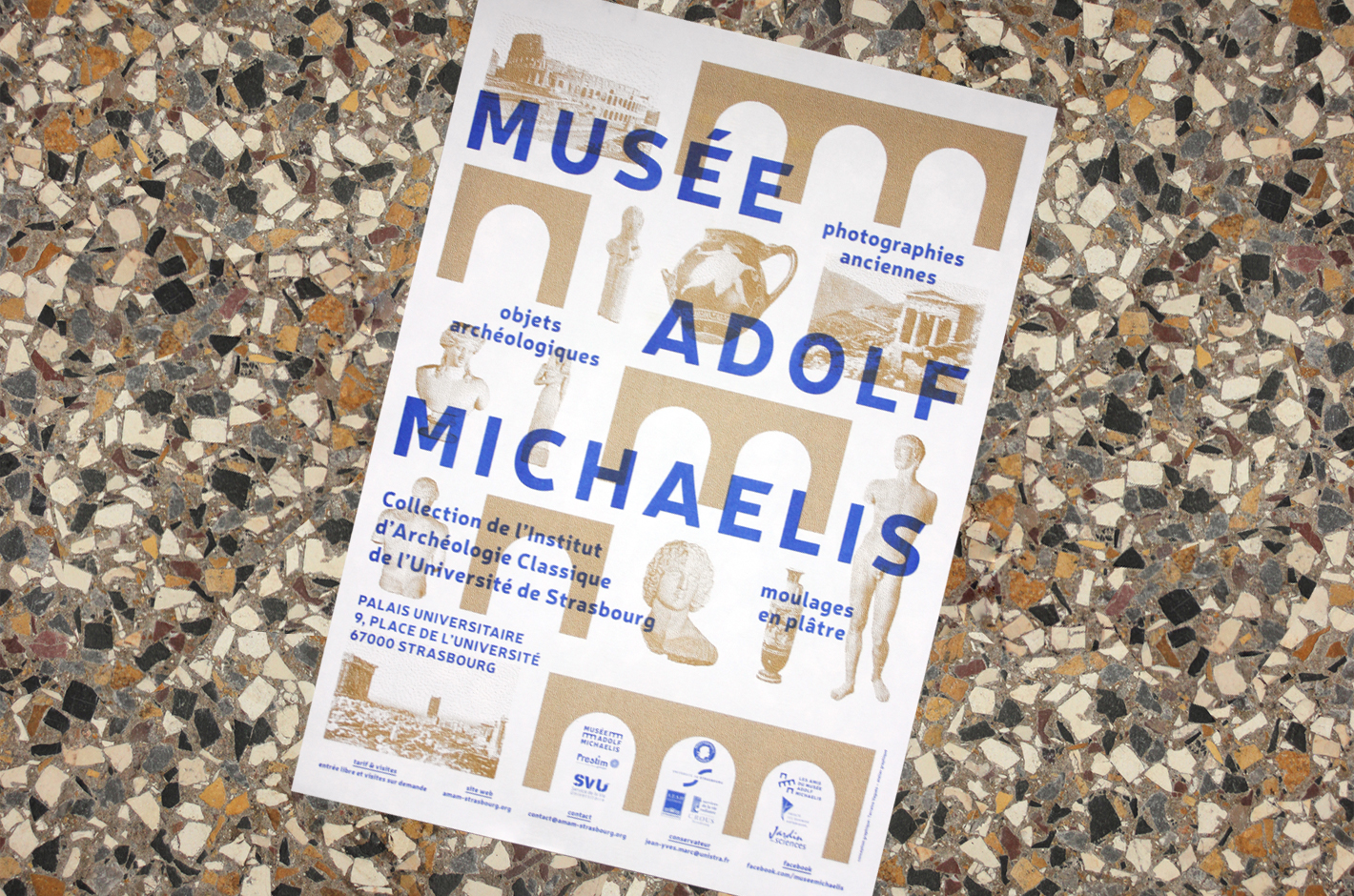 Musée Adolf Michaelis —affiche