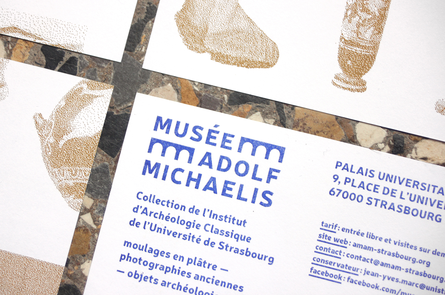 Musée Adolf Michaelis — flyers