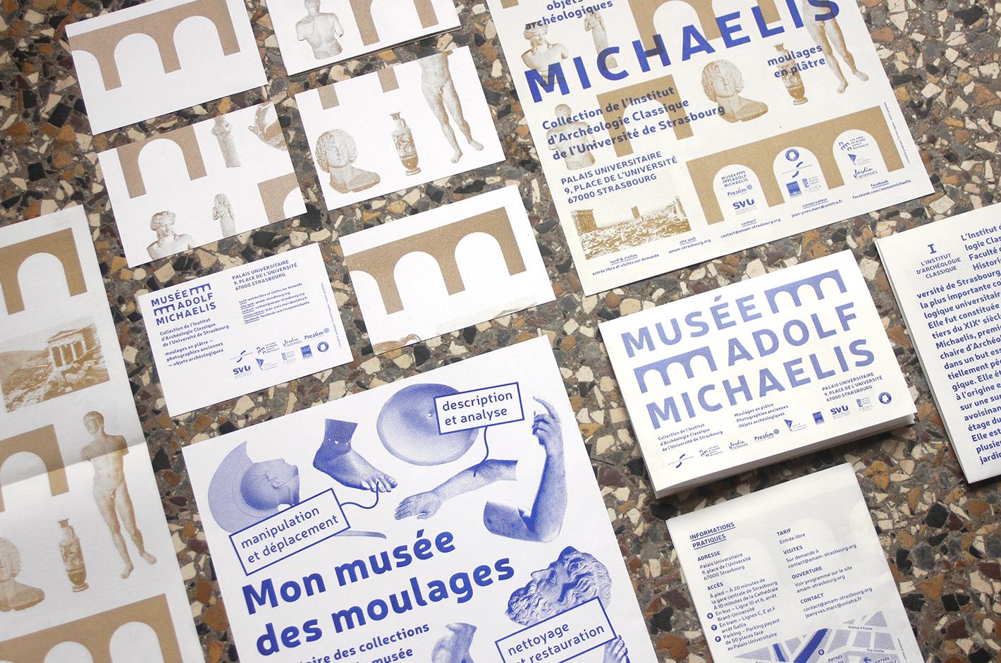 Musée Adolf Michaelis — identité visuelle
