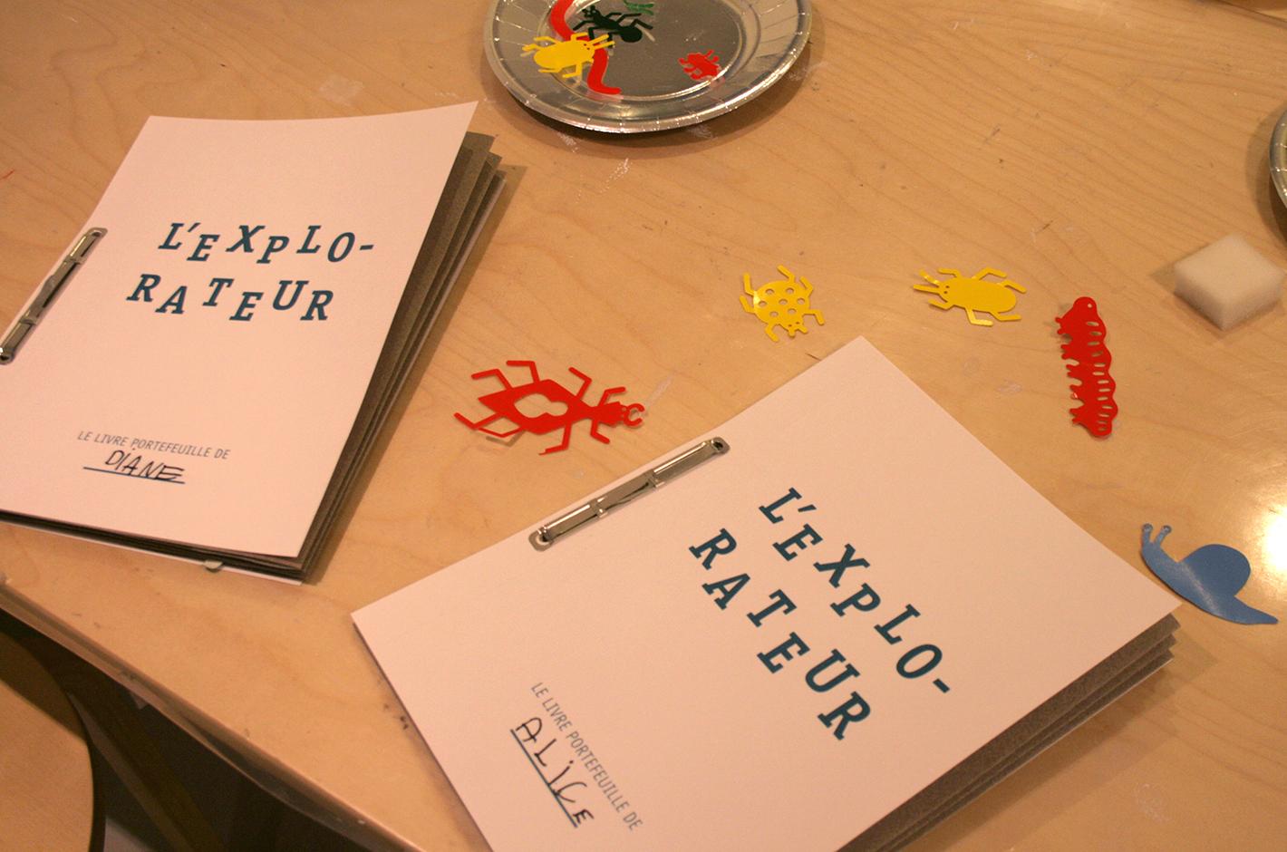livres à combines — livre portefeuille — librairie séries graphiques — atelier