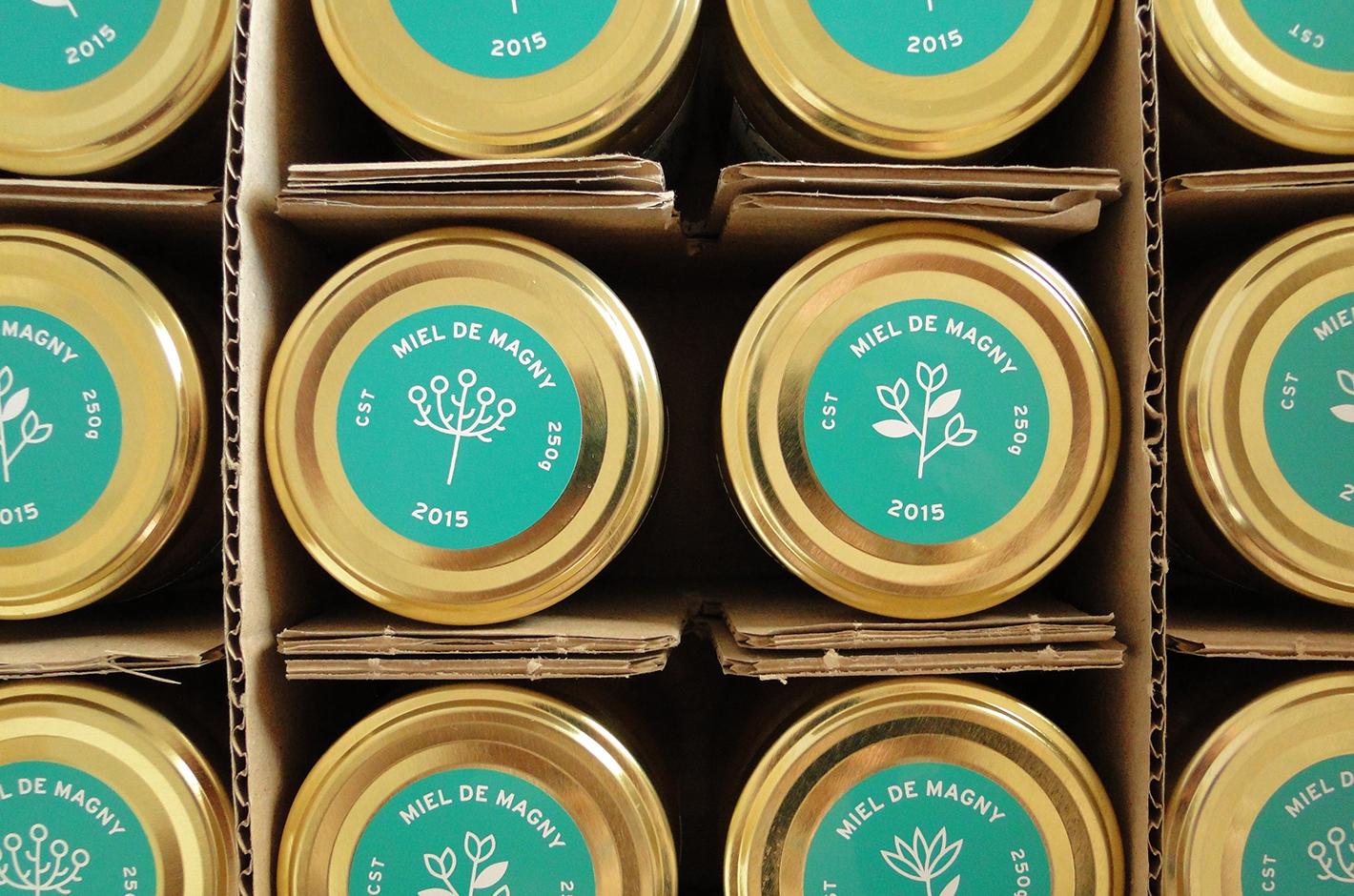 Étiquette miel - Magny les Hameaux - Colas - 2015