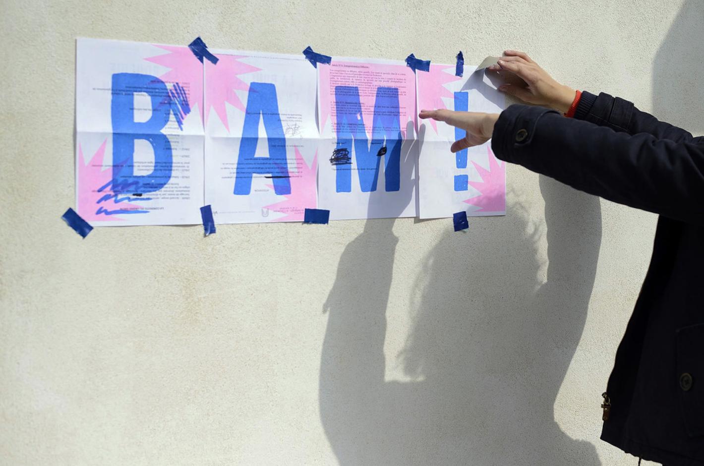 BAM ! La Bouloie en Agitation Maximum - Besançon - Campus de la Bouloie - affiche 2 points de vues