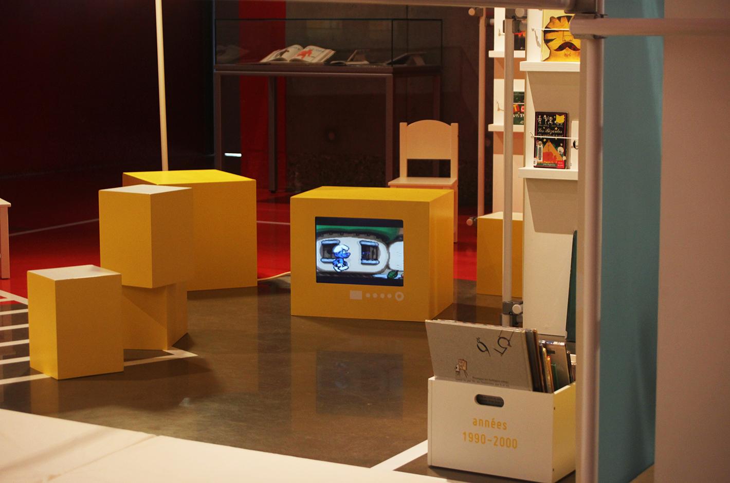 Lectorama - Un coin pour lire des années 50 à nos jours — exposition — médiathèque Malraux