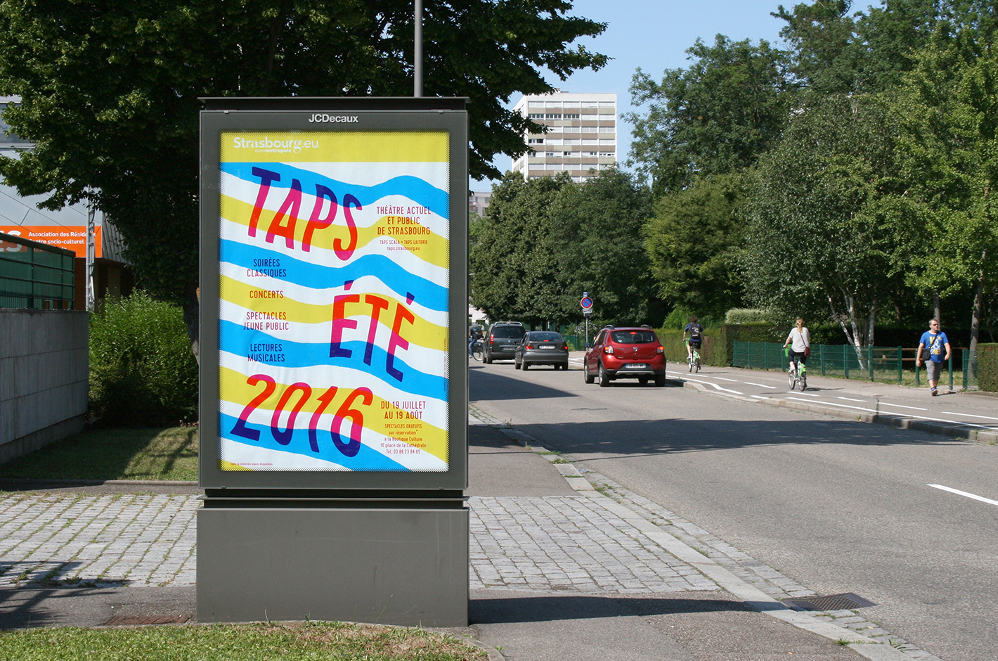 Affiche - TAPS - Strasbourg - 2016