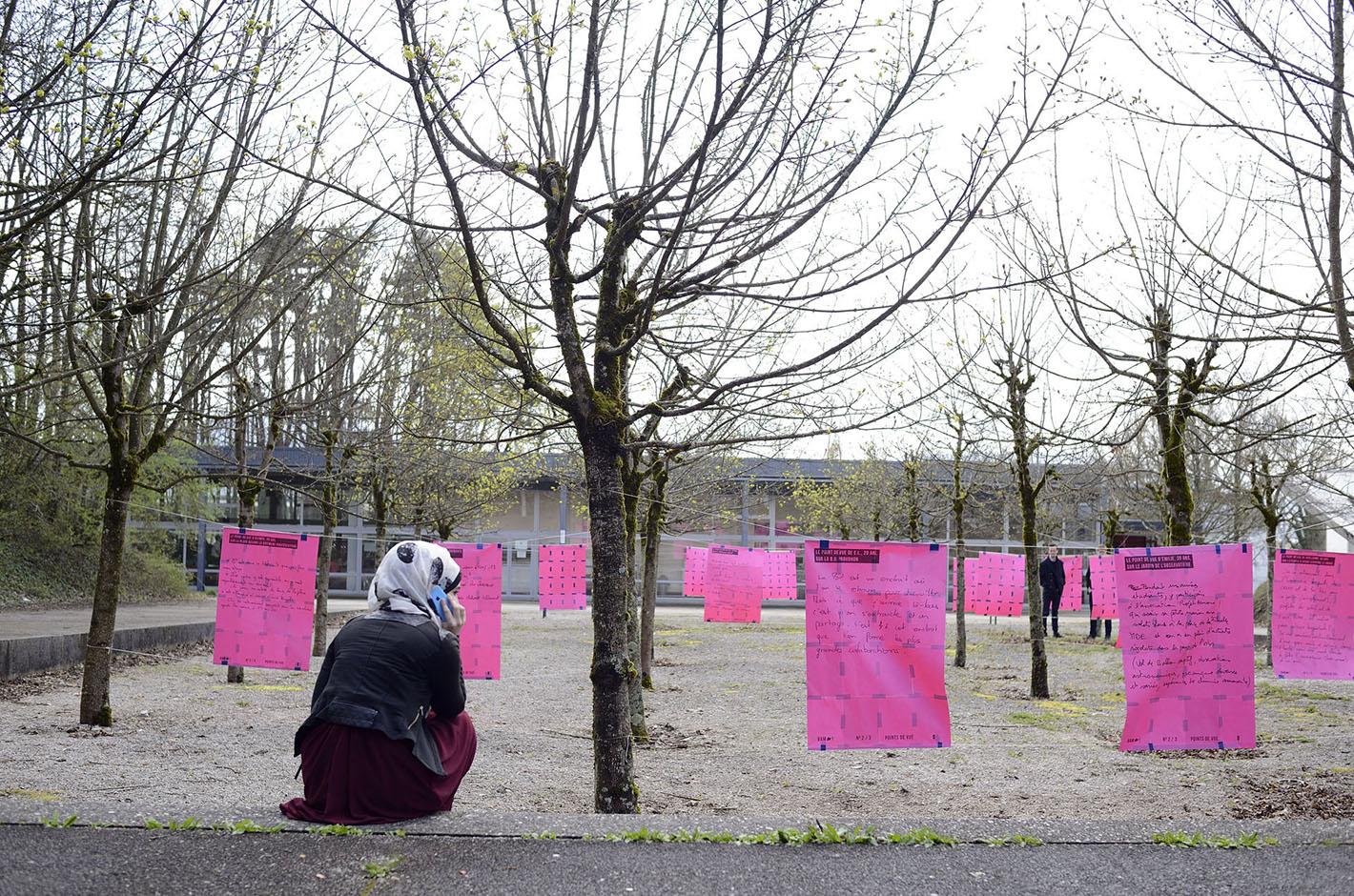 BAM ! — La Bouloie en agitation maximum — Campus de la Bouloie — Besançon — Université de Franche-Comté