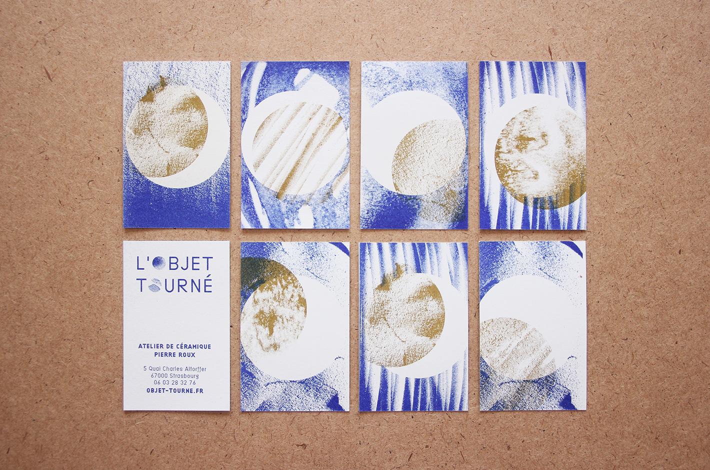 Objet tourné - Atelier de céramique Pierre Roux - 2016