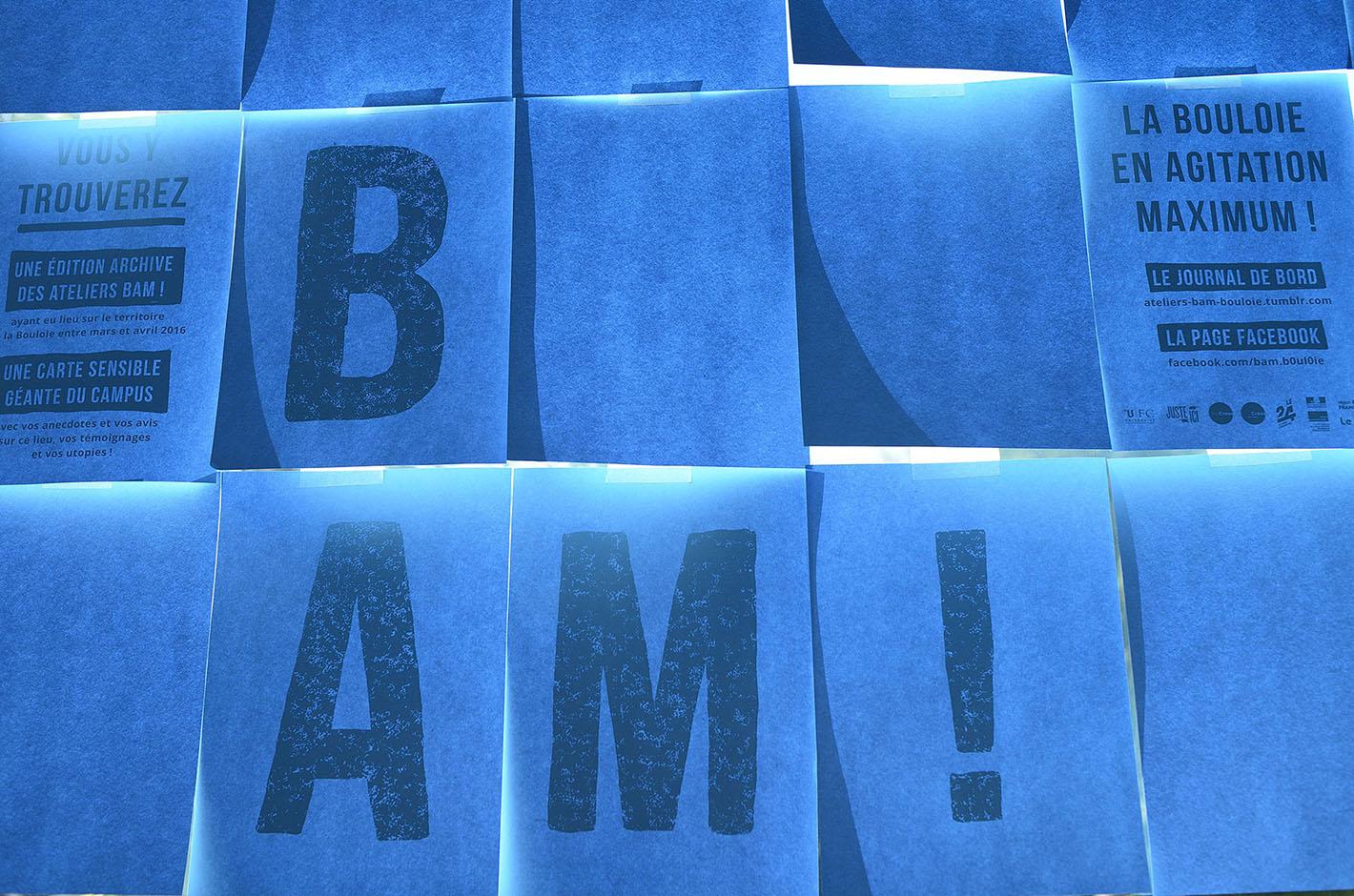 BAM ! — La Bouloie en agitation maximum — campus de Besançon — Université Franche-comté