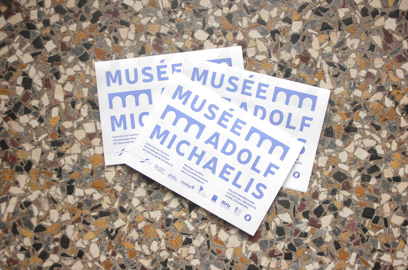 Musée Adolf Michaelis — dépliant