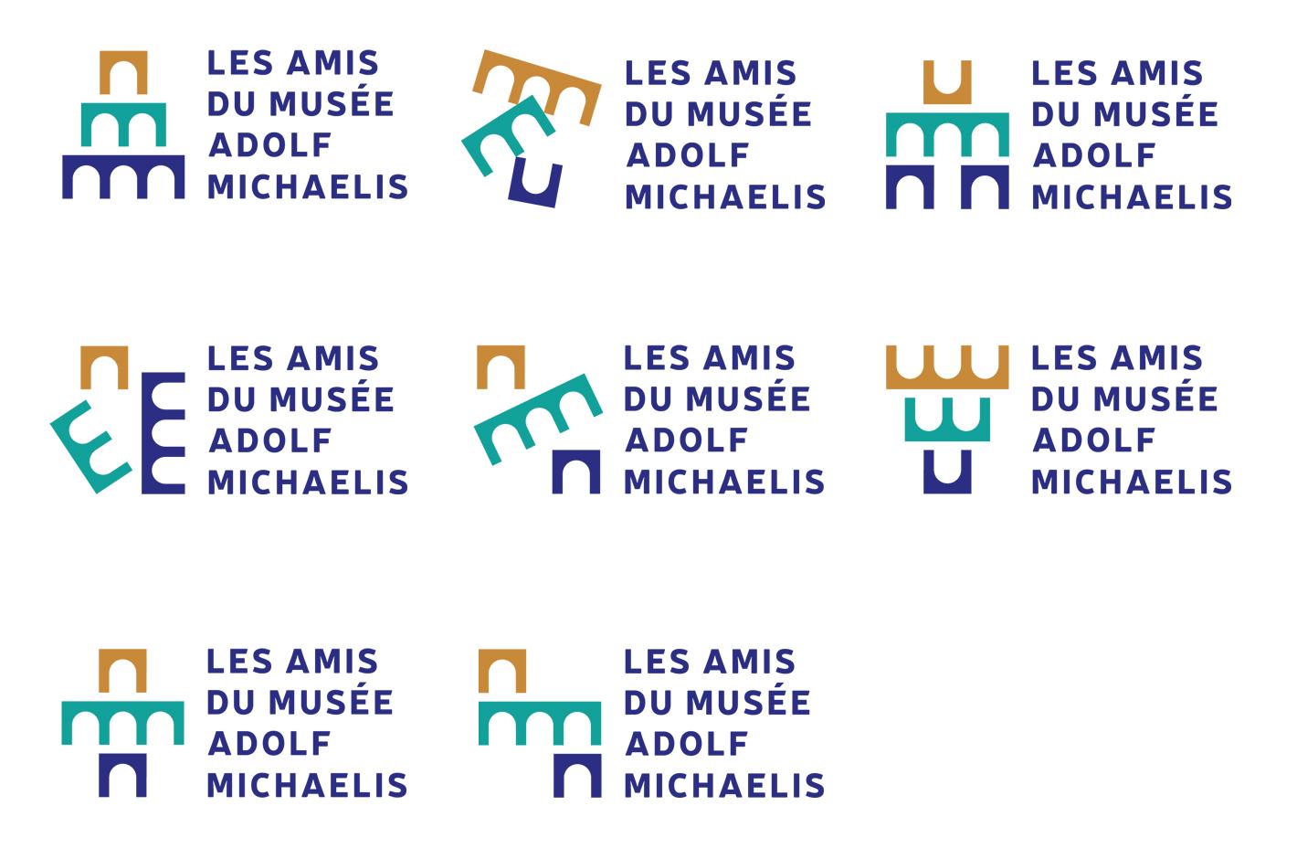 Musée Adolf Michaelis — logotype association des amis du musée