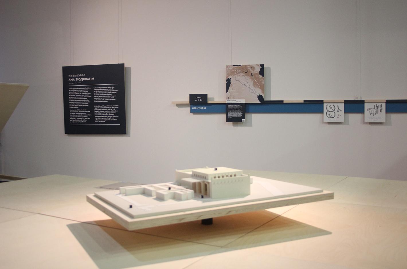 Ana Ziqquratim I sur la piste de Babel — Bibliothèque Universitaire de Strasbourg — exposition