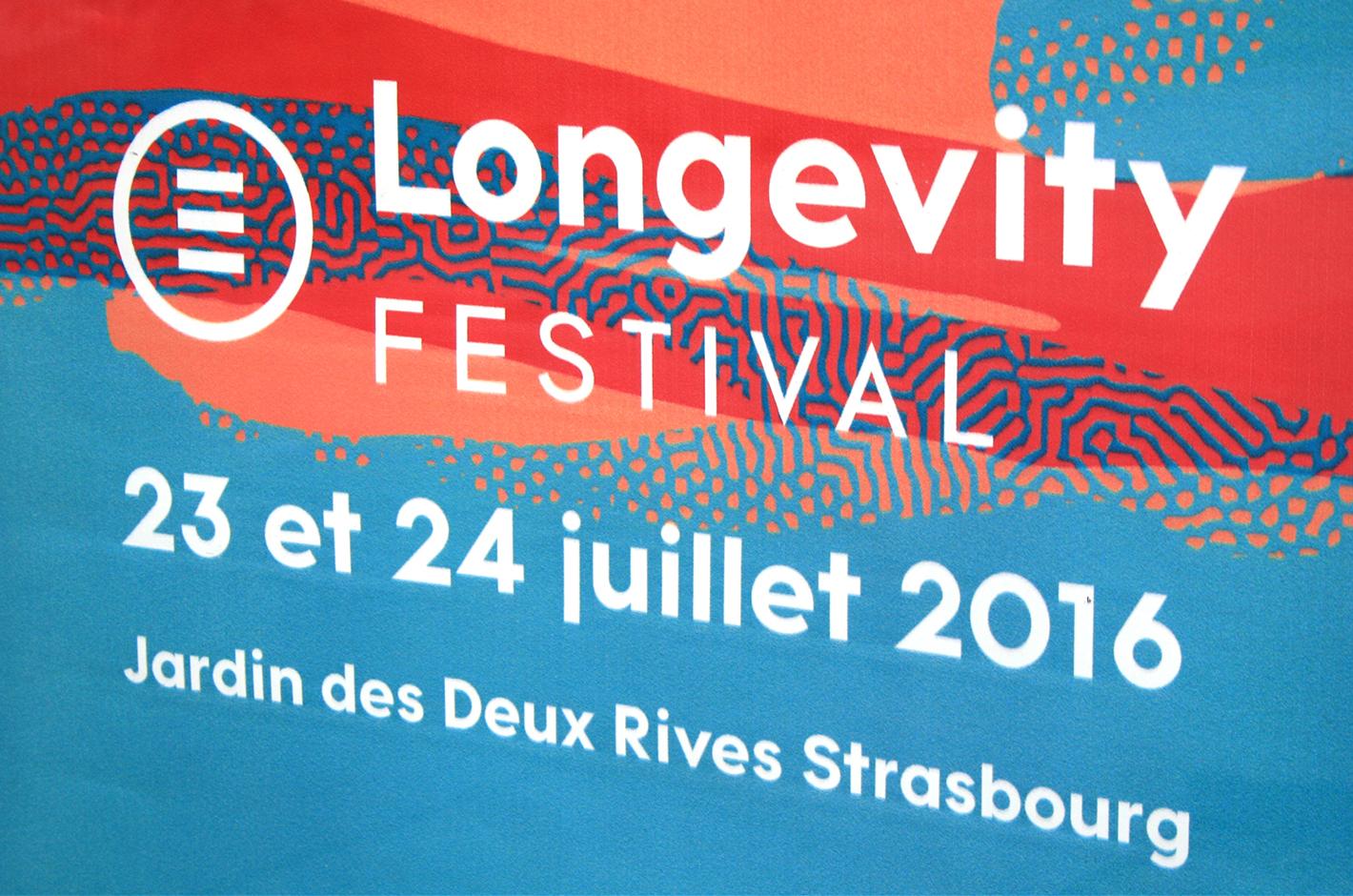 Longevity 2016 — Festival — Jardin des Deux rives — affiche