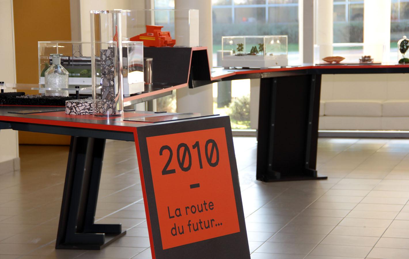 Le showroom du campus scientifique et technique de Colas